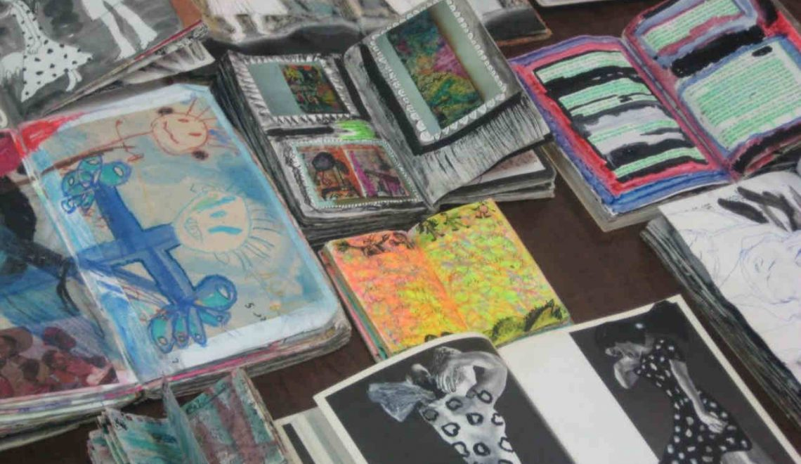Judith Ubick's expansive journals